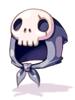 Costume Skull Hood [0]