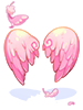 C Cupid Wing Pink [0]