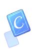 Blue C Card