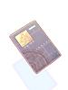 Blue L Card