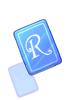 Blue R Card