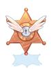 Hunting Medal Badge