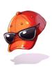 Costume Sunglasses Baseball Hat [1]