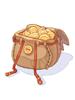 Gold Coin Basket